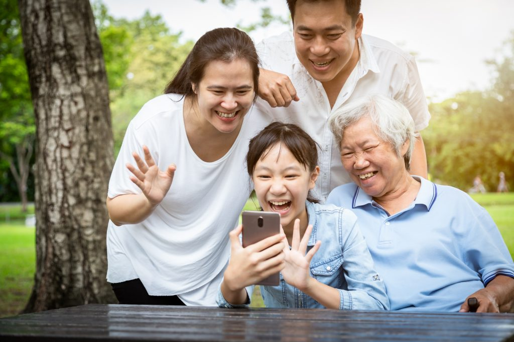 Stay Connected with Family Through Tech