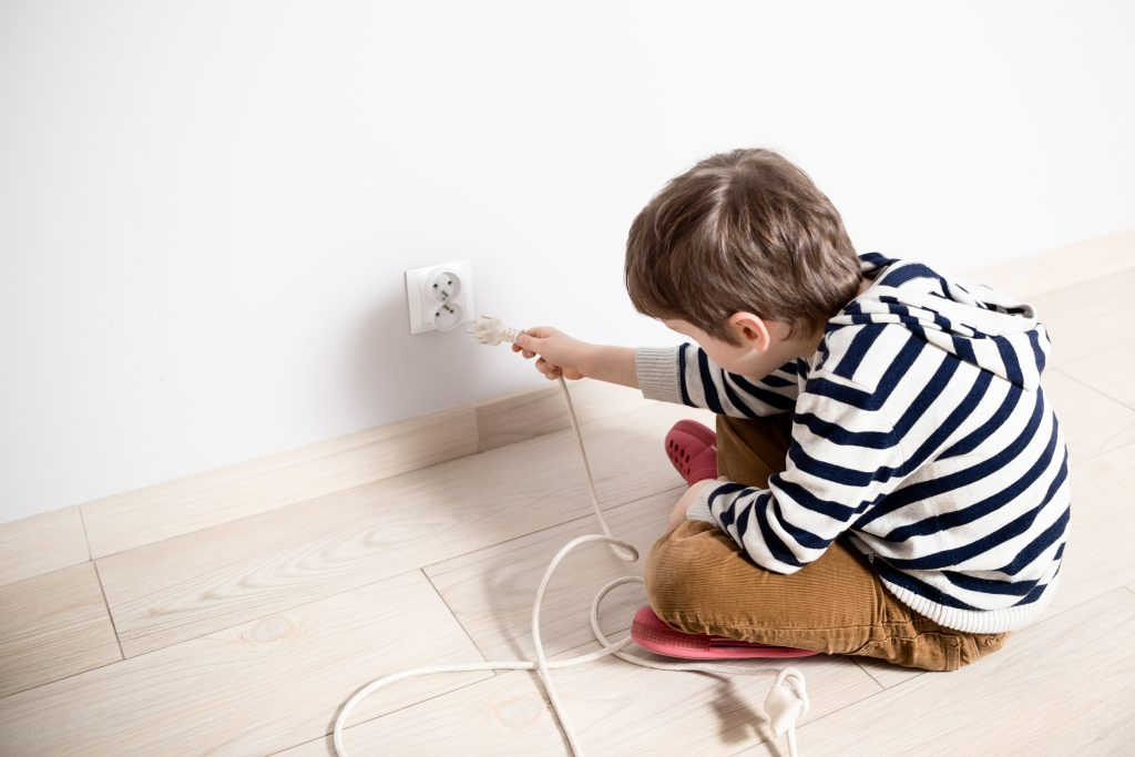Keep Your Child Safe from Cords and Wires